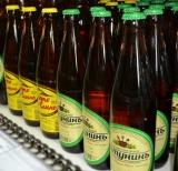 Пиво в стеклянных бутылках